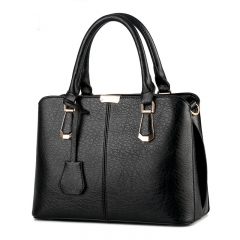 Women sweet fashion Crossbody Shoulder Handbag black one size
