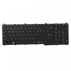 Keyboard for Toshiba Satellite C655 L655 C655D L655D US Layout black one size