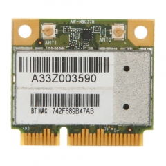 Laptop 150 Mbps 802.11 b/g/n WiFi Bluetooth 3.0 Wireless Network Card PCI-E as picture