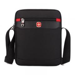 Men SwissGear School Shoulder Satchel Briefcase Messenger Bag Outdoor Sling Bag black one size
