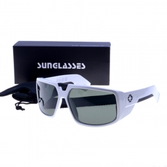 Women Men Fashionable Super Cool PC Gradual Frame Grey Lens Sunglas Active as picture one size