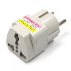 Lot 5Pcs US UK AU To EU EURO France Germany Travel Adaptor Adapter Converter Plug