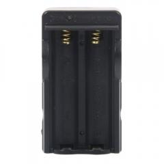 Battery Charger 110V~240V for 18650 Rechargeable Battery Black