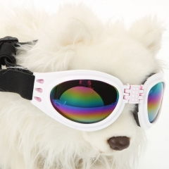 Pet Dog Fashion Sunglasses Goggles UV Eye Wear Protection of Wind Rain 6 Color black one size