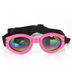 Doggles Adjustable Foldable Pets UV Protection Sunglasses Goggles pink one size