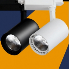 LED track lamp, 10W20W30W40W50W window, exhibition hall, clothing shop, COB track lamp white light 10w
