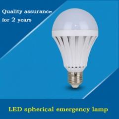 LED emergency intelligent bulb lamp 4PCS White e27(screw mouth) 5w