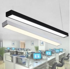 New High grade round LED office chandeliers, modern aluminum,  office buildings, commercial lighting black 900mm one