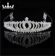 MR.S Rhinestone crown hair ornaments wedding dress accessories E-027