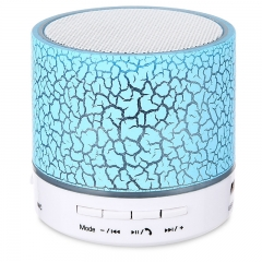 LED Mini Wireless Bluetooth Speaker USB FM Portable Sound Box Subwoofer Loudspeakers TF Card kk0034 green
