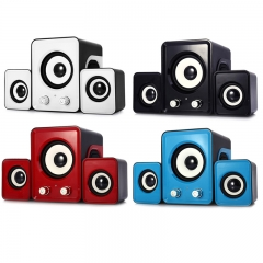 2.1 USB Multimedia Combination Computer Subwoofer Portable Mini Speaker kk0036