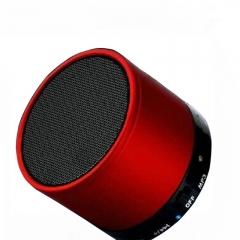 Portable Mini Bluetooth Speaker Metal Steel Wireless Stereo Subwoofer Speaker FM Radio TF Card k0037