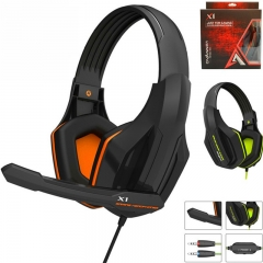 Professional Super Bass Gaming Headset with Microphone Game Stereo Headphones for Computer kk0038