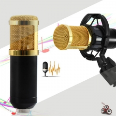Hot sale Dynamic Condenser Wired Microphone Mic Sound Studio for Recording Kit KTV Karaoke kk0075