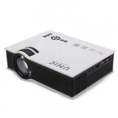 Portable 3D HDMI VGA Home Theater beamer multimedia projector Full HD 1080P video Player kk0073 white 100-240v