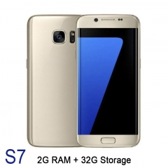 "S7 5"" 2GB RAM 32GB Capacity Android 6 Google Play 2800mAh Mobile Smart Phone Smartphone 0085 gold"
