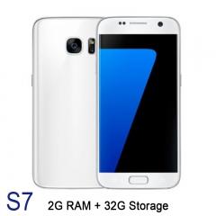 "S7 5"" 2GB RAM 32GB Capacity Android 6 Google Play 2800mAh Mobile Smart Phone Smartphone KK0085F white"