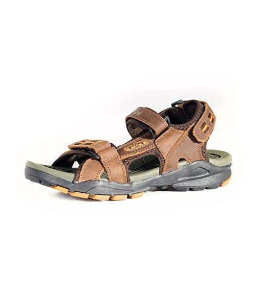 Rukana Men's Rugged Outdoor NUBUCK Leather Sandals