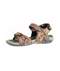 Rukana Rugged with Tough Rubber Soles Lightweight  Outdoor Summer  Sandals Men Shoes brown SAM7- 40
