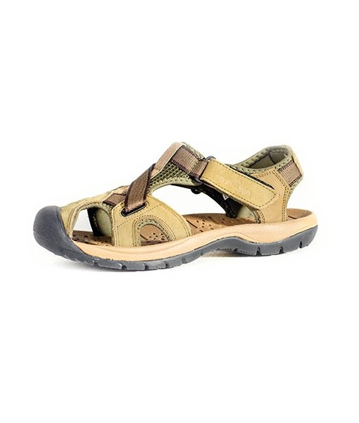 Rukana Men's Rugged Outdoor Leather Sandals, Kilimall