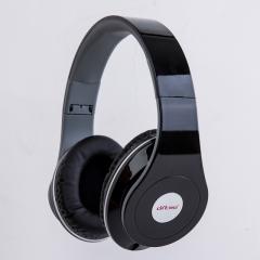 Foldable head type music sport earphone black one size