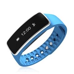 Sports sleep waterproof blue smart bracelet blue one size
