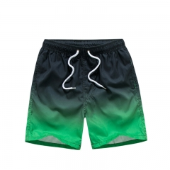 Hot Brand Mens Leisure Shorts Casual Beach Boxer Trunks Sexy Man Wear Baseball Man green m