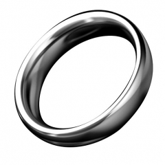 Stainless Steel thick male cock ring sex toys Silver cock ring