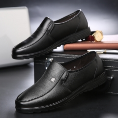 Luxury Brand Men Shoes High Quality Business Derby Shoes Men Wedding Shoes Men Dress black 39