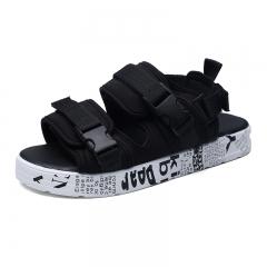 Men's Sandals Summer Shoes Beach Men Sandals Men Causal Outdoor Waterproof Slippers white 39