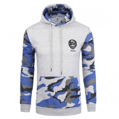 men's baseball uniform hoodies & sweatshirts casual style camouflage pattern fitness five colors A S