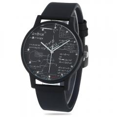 New Arithmetic Personality Watches FEIFAN Luxury Brand Fashion Wristwatches Men Women Quartz Watches black one size
