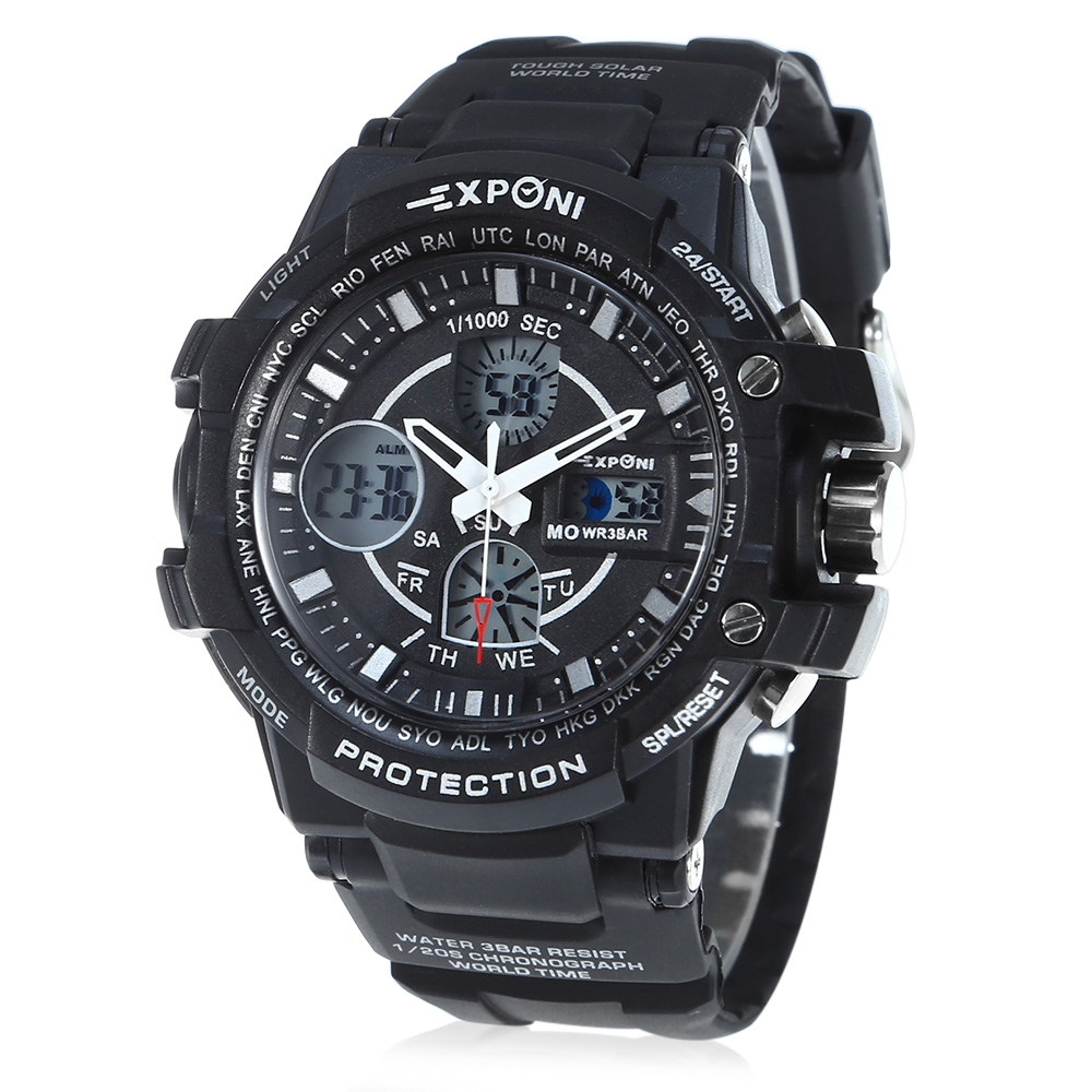 exponi waterproof boys sport multi function electronic