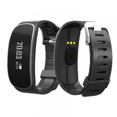 H29 Smart Band Heart Rate Monitor Bluetooth Tracker Bracelet Pedometer Call Reminder for Android IOS black one size