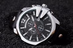 CURREN Men's Sports Quartz Watch Top Brand Luxury Designer Watch male Fashion Date silver black one size