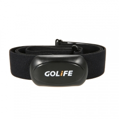 GOLiFE ANT+ Wireless Sport Heart Rate Transmitter Chest Strap Pulse Monitor Heartbeat Band Running black one size
