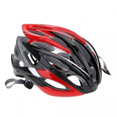 26 Vents Ultralight EPS Outdoor Sports Mtb/Road Cycling Mountain Bike Bicycle Adjustable Helmet red