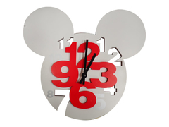 Fancy Mickey Mouse Children 3D Wall Clock