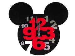 Fancy children 3D wall clock