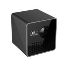 UNIC Home/Office Portable Mini WiFi Projector  Micro Led Dlp For Smart Phone  Home Theatre black 3cm