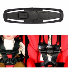 2017 New Car Baby Children Safety Seat Strap Belt Harness Chest Clip Buckle Latc black one size