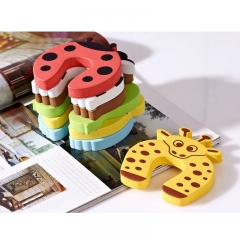 5pcs/lot Children baby door stopper door clamp pinch hand security card random color one size random color one size