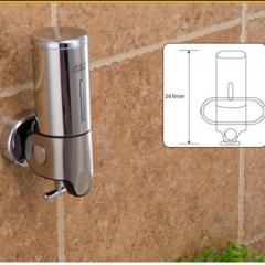 500ml Stainless Steel  Hand Liquid Soap Dispenser Wall Mounted steel 241mmx122mmx100mm