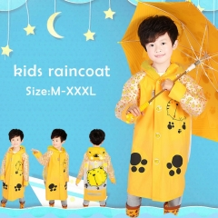 Ashanglife Kids Rain Coat children Raincoat Rainwear/Rainsuit,Kids Waterproof Animal Raincoa pink