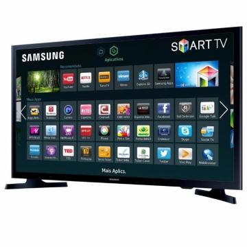 Samsung (32J4303) LED Display HD Smart Digital TV - Black, 32 Inch TV