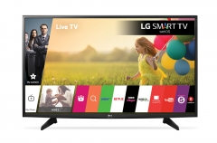 LG Full HD LED Panel Smart Digital Television (32LH590U) - Black, 32 Inch TV