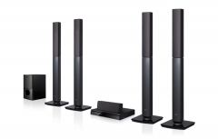 LG LDH665W 1000W 5.1 Channel Home Theater System Black