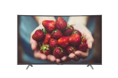 TCL (55P1CFS) Curved Panel Full HD Smart Digital Television - Black, 48 Inch TV