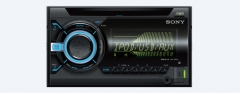 Sony WX800UI In Car CD Receiver with USB -Black