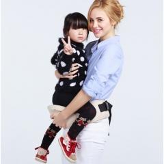 Baby Carrier Waist Stool Walkers Baby Sling Hold Waist Belt Backpack Hipseat Belt beige one size